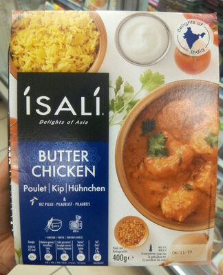 Butter Chicken & riz pilau - Product - fr