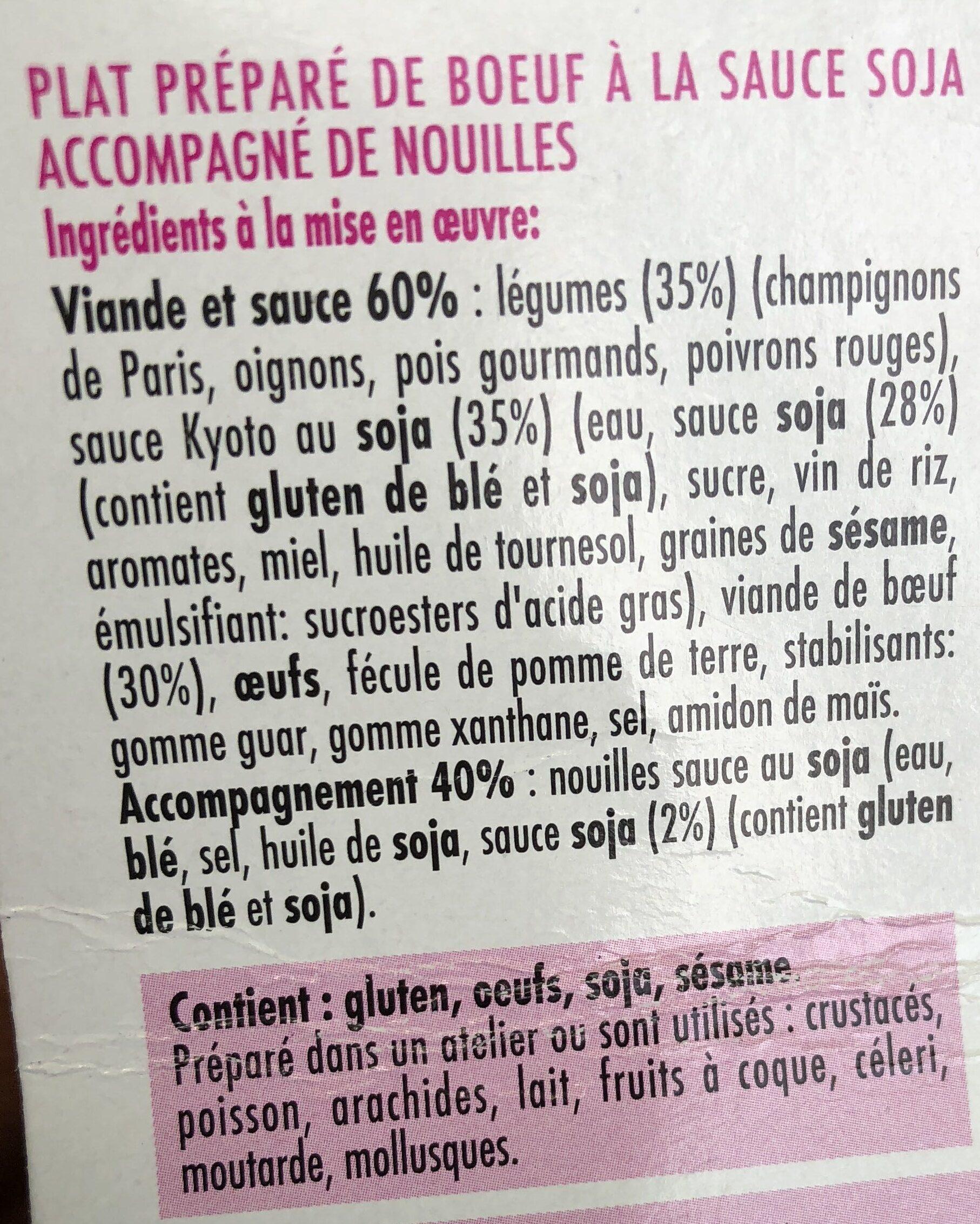 Kyoto - Ingrediënten - fr