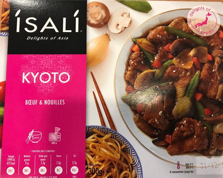 Kyoto boeuf et nouilles - Produit - fr
