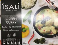 Green curry - Product - fr