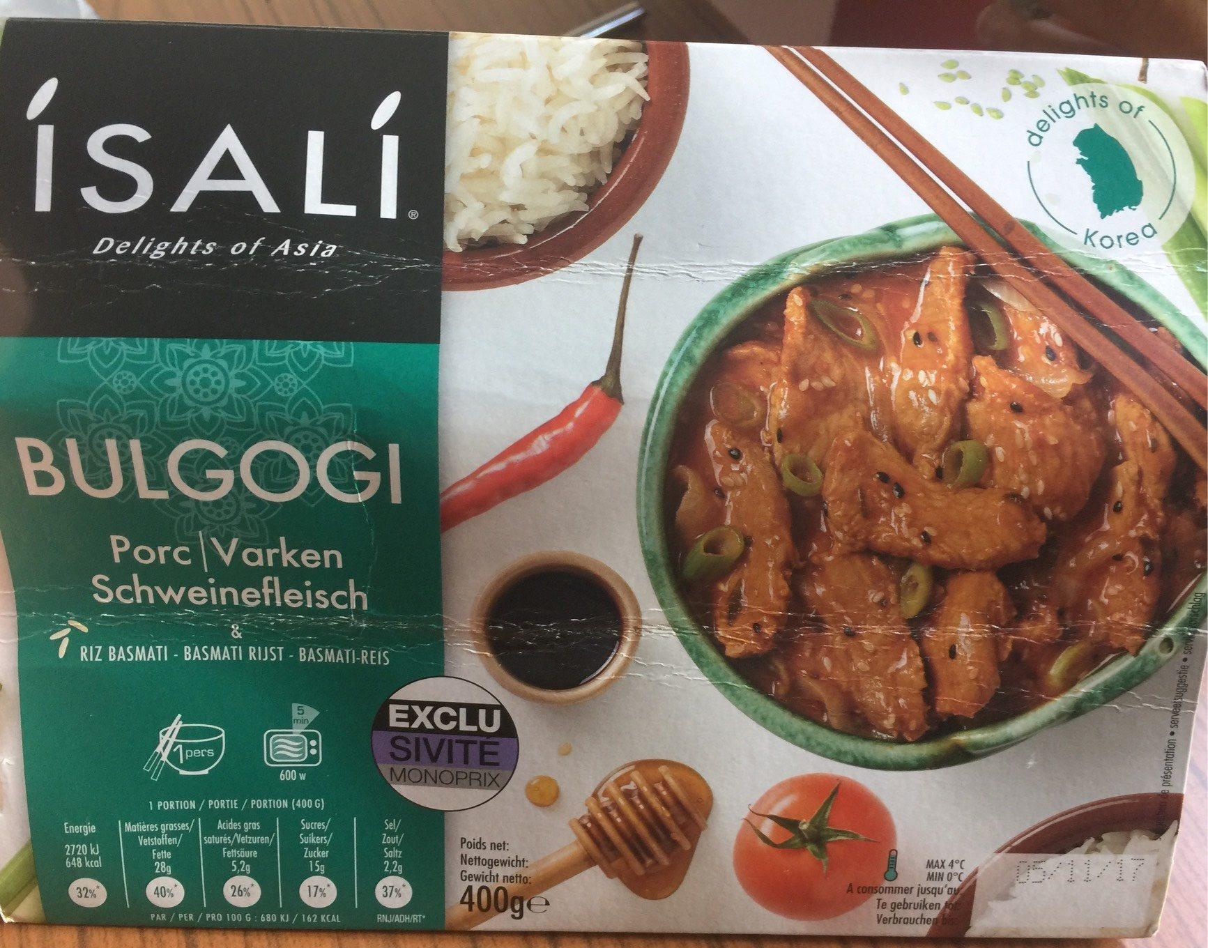 BULGOGI - Product - fr