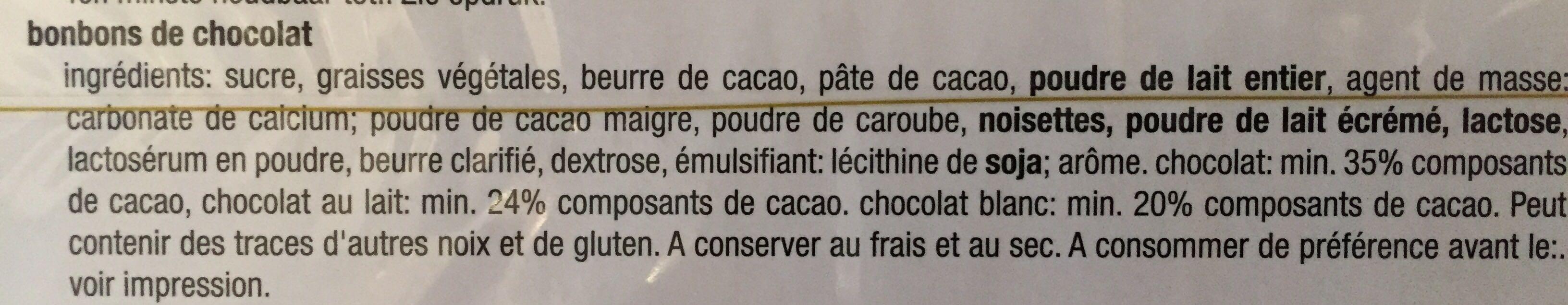 Belgian Seashells - Ingrediënten - fr