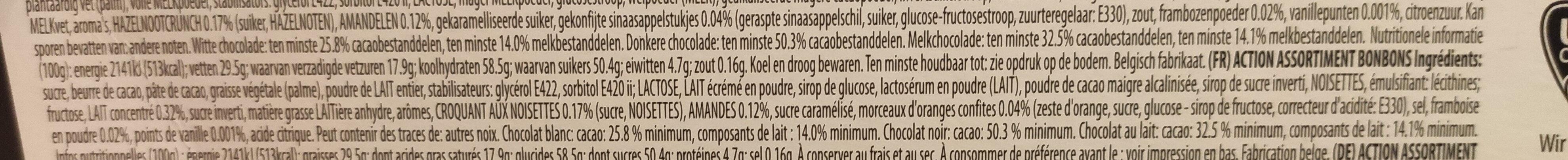 Prestige of belgium - Ingredients