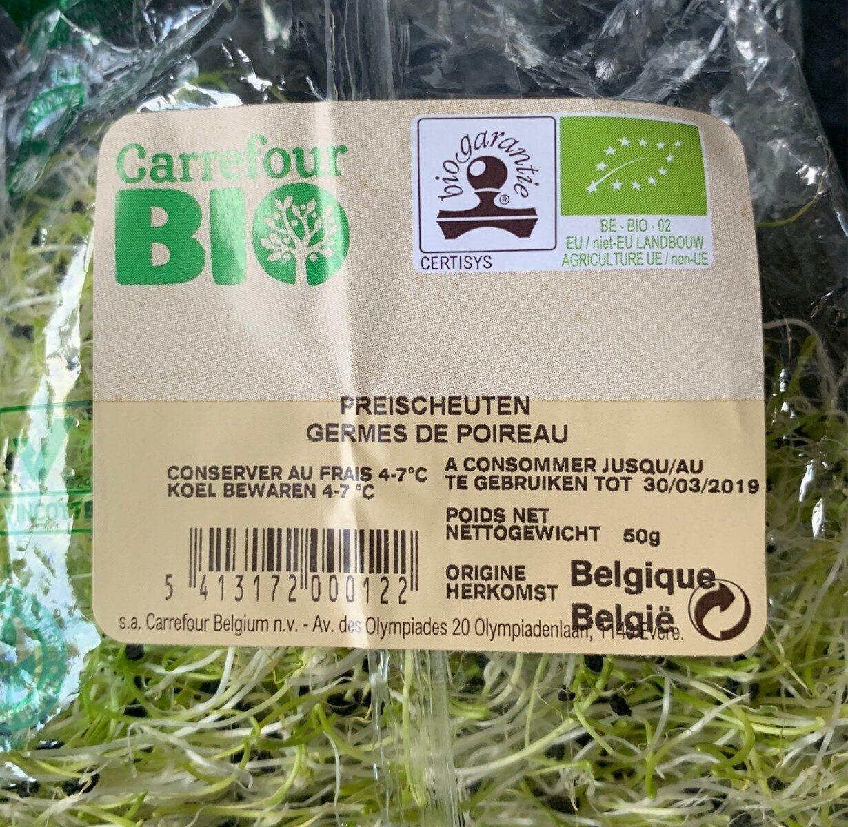 Germes de poireau - Product - fr