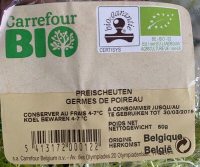 Germes de poireau - Ingredients - fr