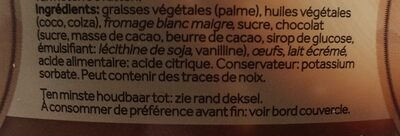 Choco Light Rabeko - Ingrédients - fr