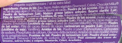 Muffin au coeur fondant - Ingrédients - fr