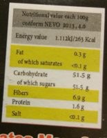 Dattes Fraiches - Ingredients - en