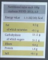 Dattes Fraiches - Voedingswaarden - nl