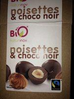 Noisettes et choco noir - Produit - fr