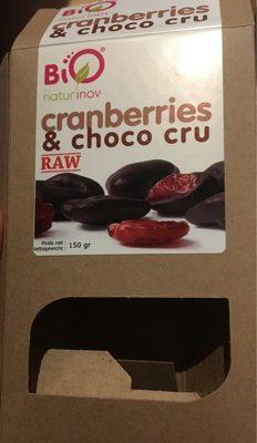 Cranberries et choco cru - Prodotto - fr