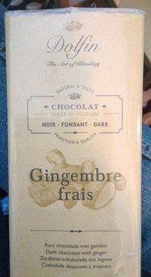 Chocolat Noir Au Gingembre Frais - Product