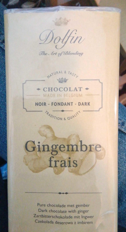 Chocolat Noir Au Gingembre Frais - Product - fr