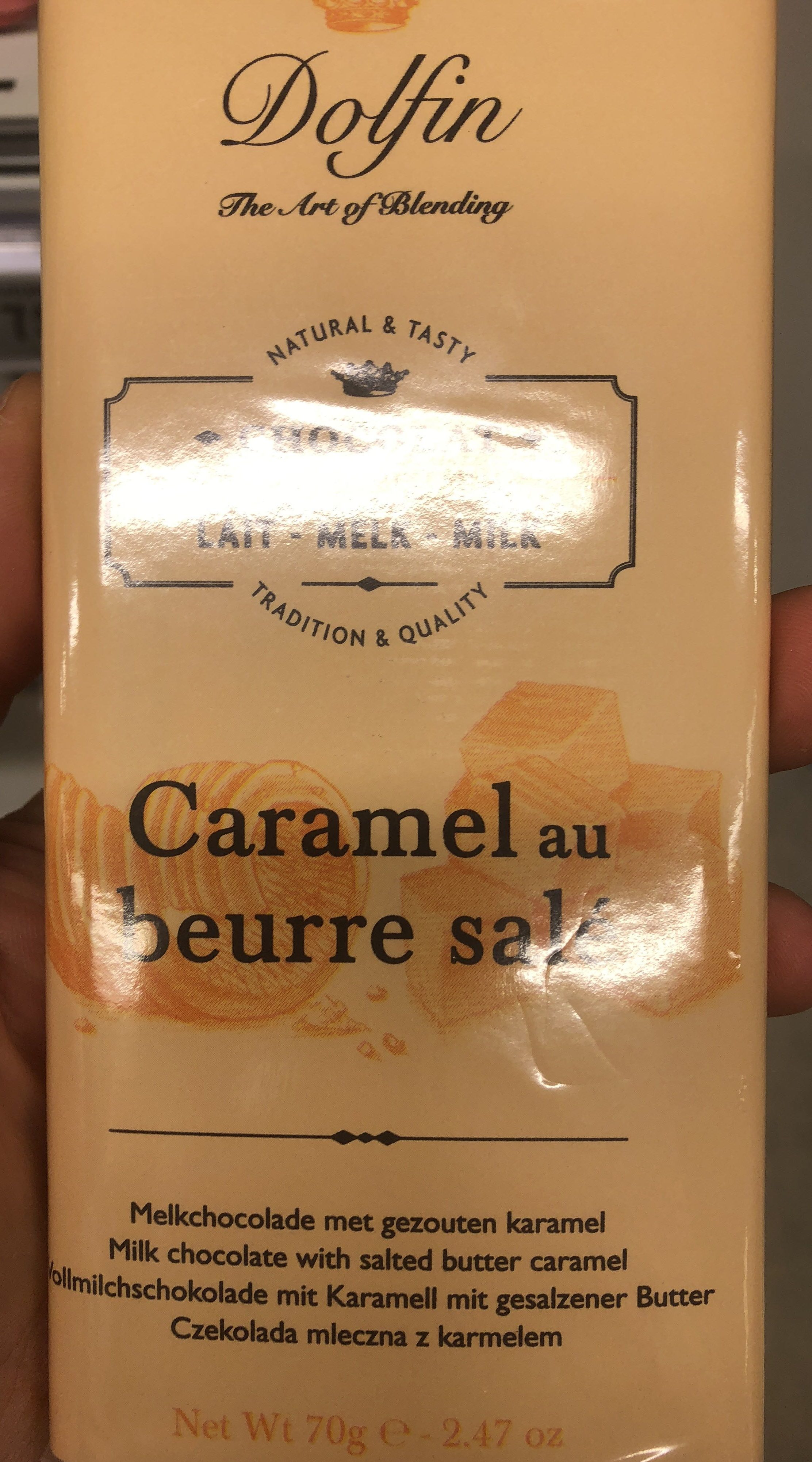 Chocolat Au Lait Au Caramel Et Beurre Salé - Product