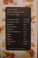 Caramel et chocolat - Informations nutritionnelles - fr