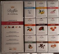 Assortiment de 27 chocolats - Produit - fr