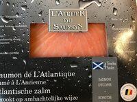 L'atelier du saumon Saumon de l'Atlantique fumé à l'ancienne - Produit - fr