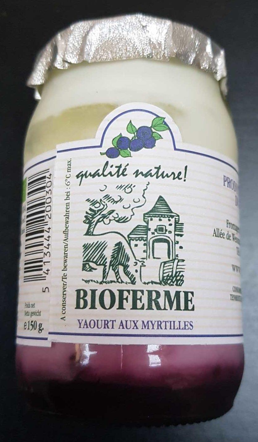 Yaourt aux myrtilles - Produit
