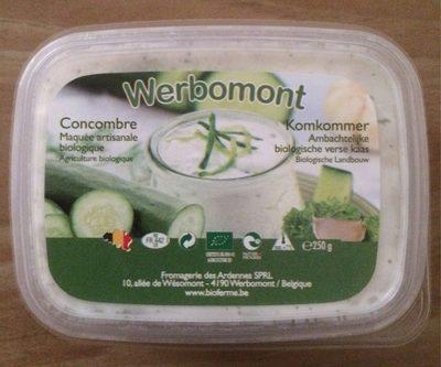 Concombre Maquée artisanale - Product