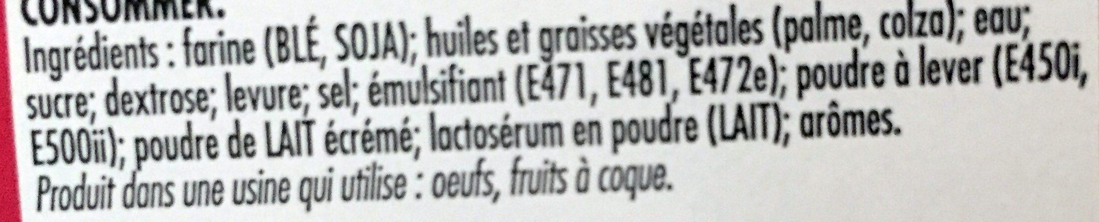 Original Doony's - Ingredients