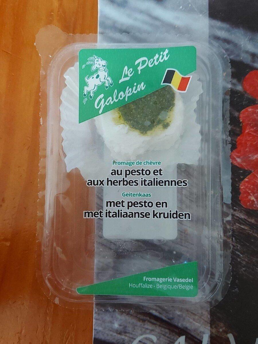 Fromage de chèvre au pesto et aux herbes italiennes - Product - fr