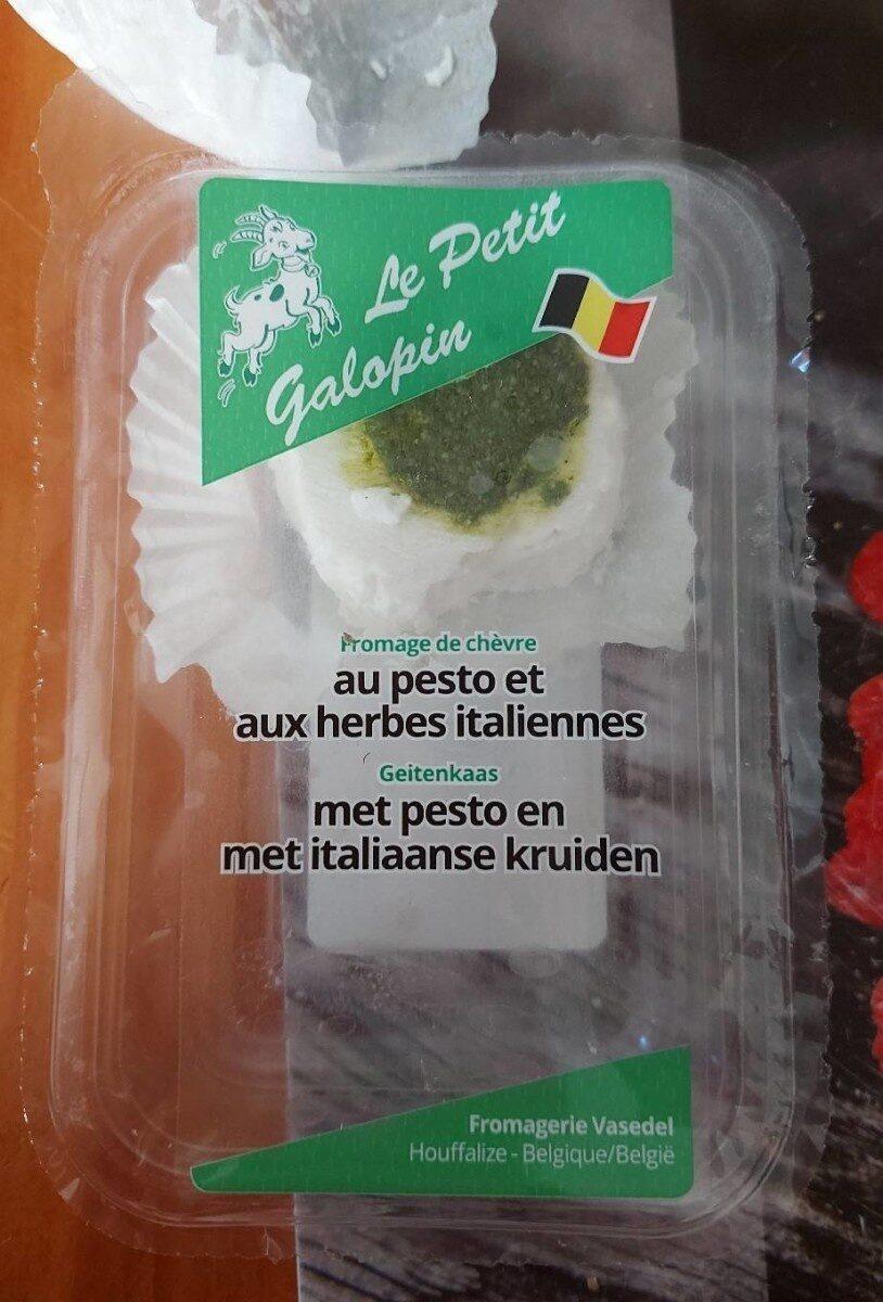 Fromage de chèvre au pesto et aux herbes italiennes - Voedingswaarden - fr