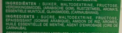 Tic Tac Mint - Ingredients - en