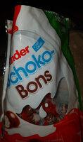 Kinder schokobons bonbons de chocolat au lait fourres lait et noisettes sachet - 製品 - fr