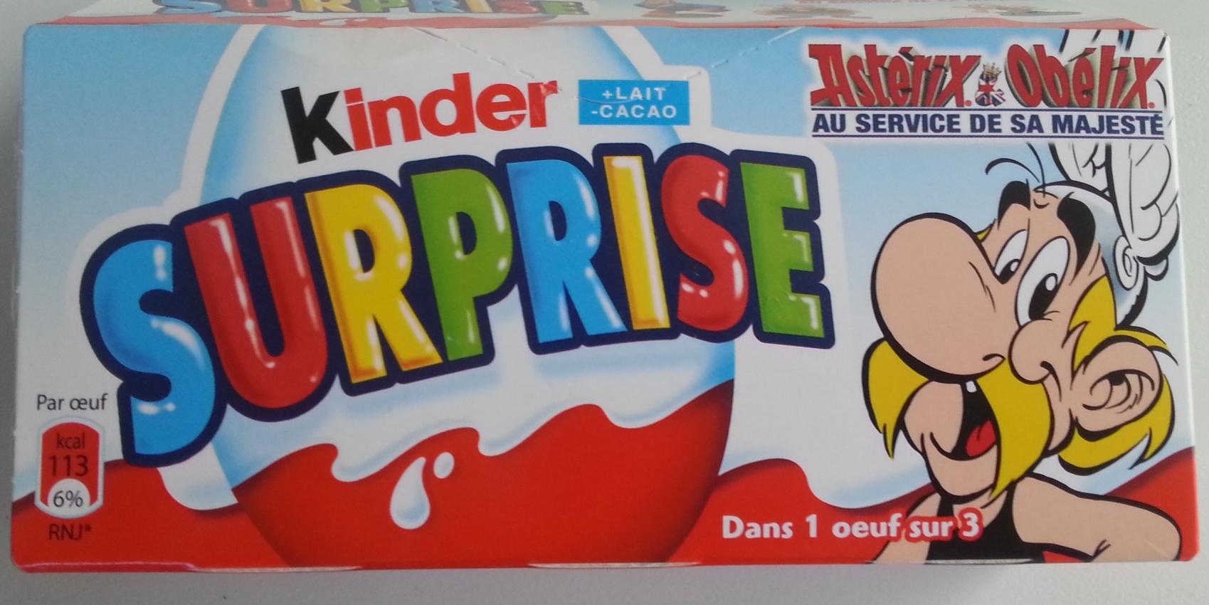 Kinder surprise Astérix et Obélix - Produit