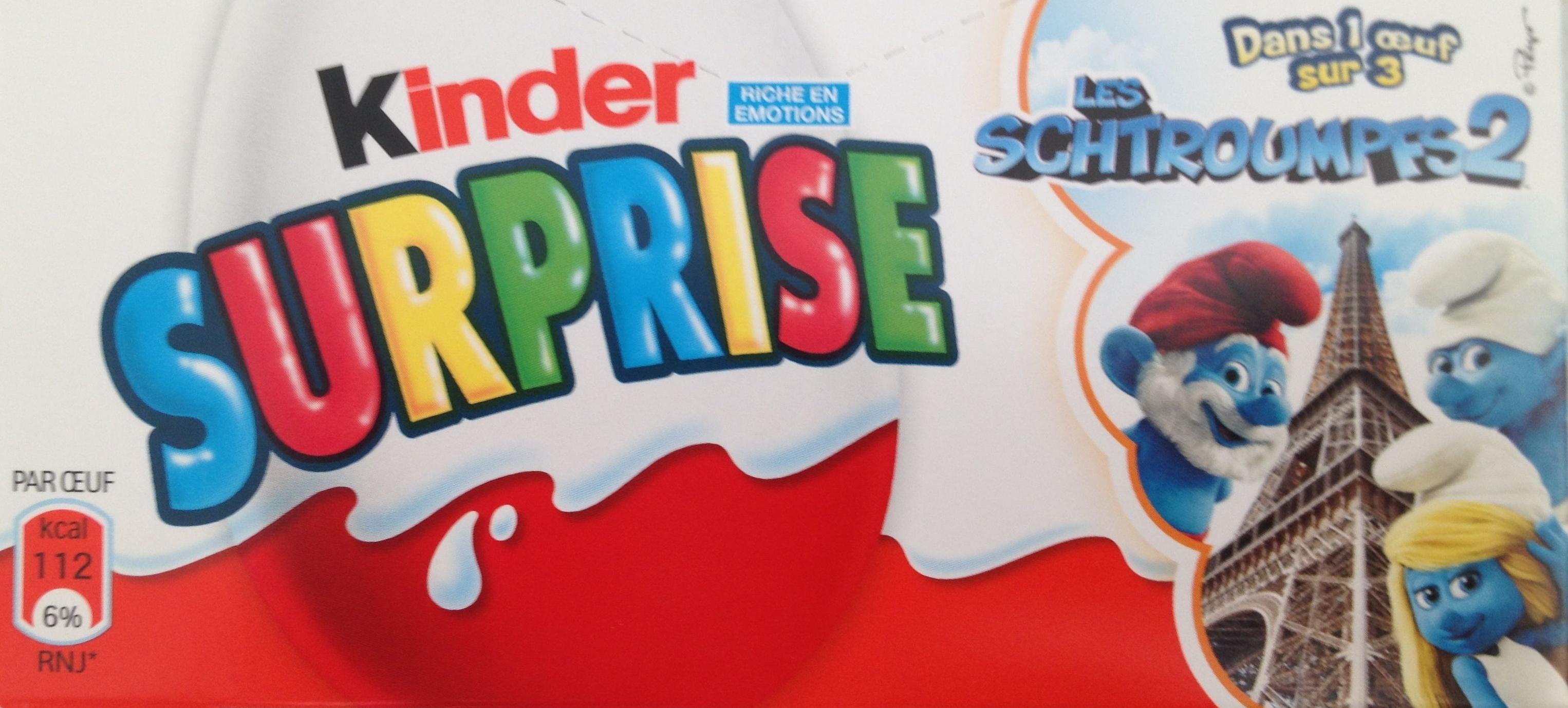Kinder Suprise - Product - fr