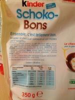 Schoko-Bons - Product - fr