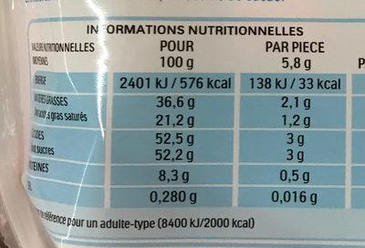Schoko-Bons - Informations nutritionnelles - fr