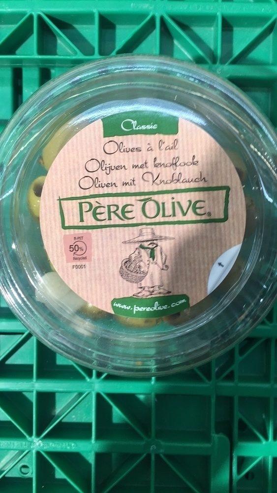 Père Olive Olives à l'ail - Product