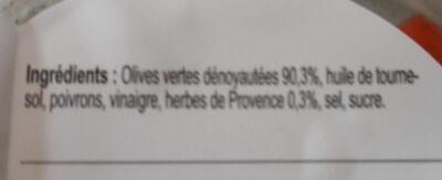 Olive Provencales - Ingredients - fr