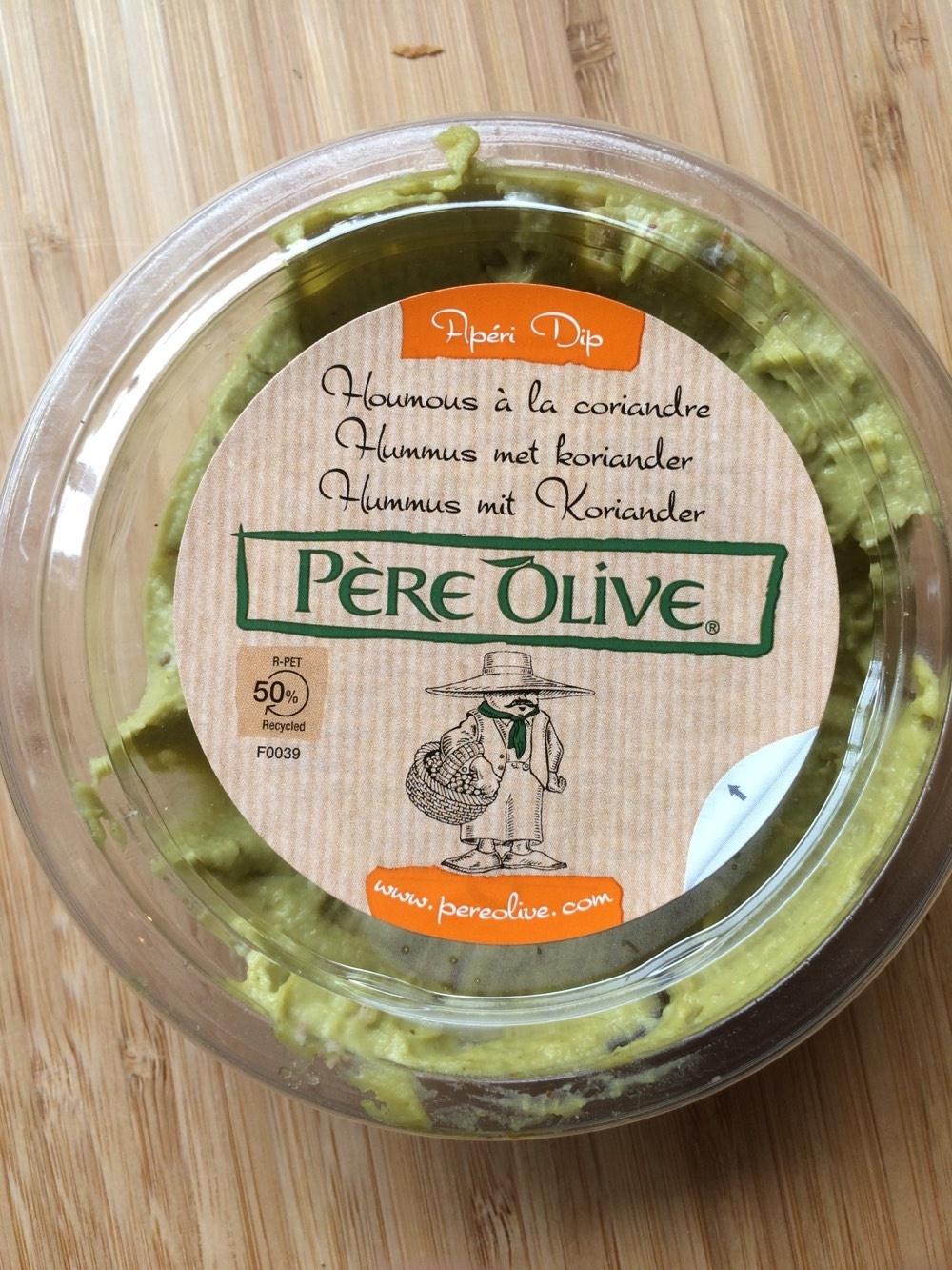 Houmous à la coriandre vegan - Product - fr