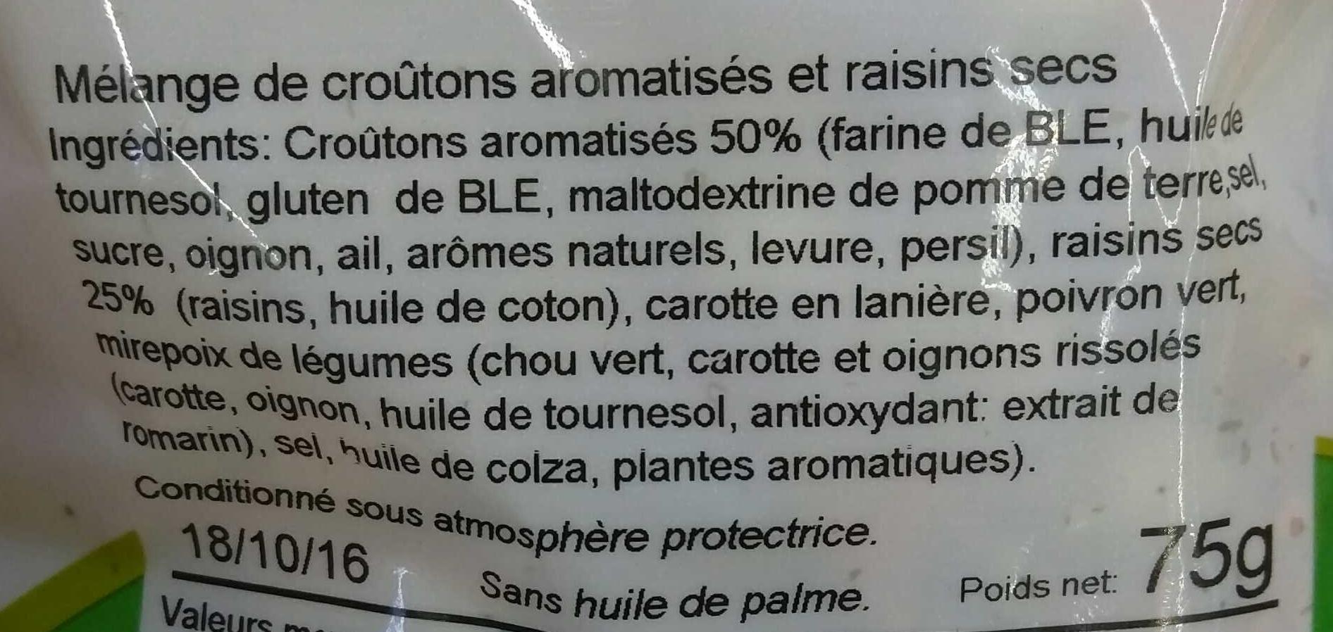 Mix Saveur de Provence - Ingredients