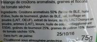 Mix Italien - Ingredients