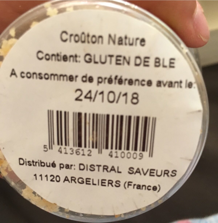 Croûtons - Ingrédients - fr