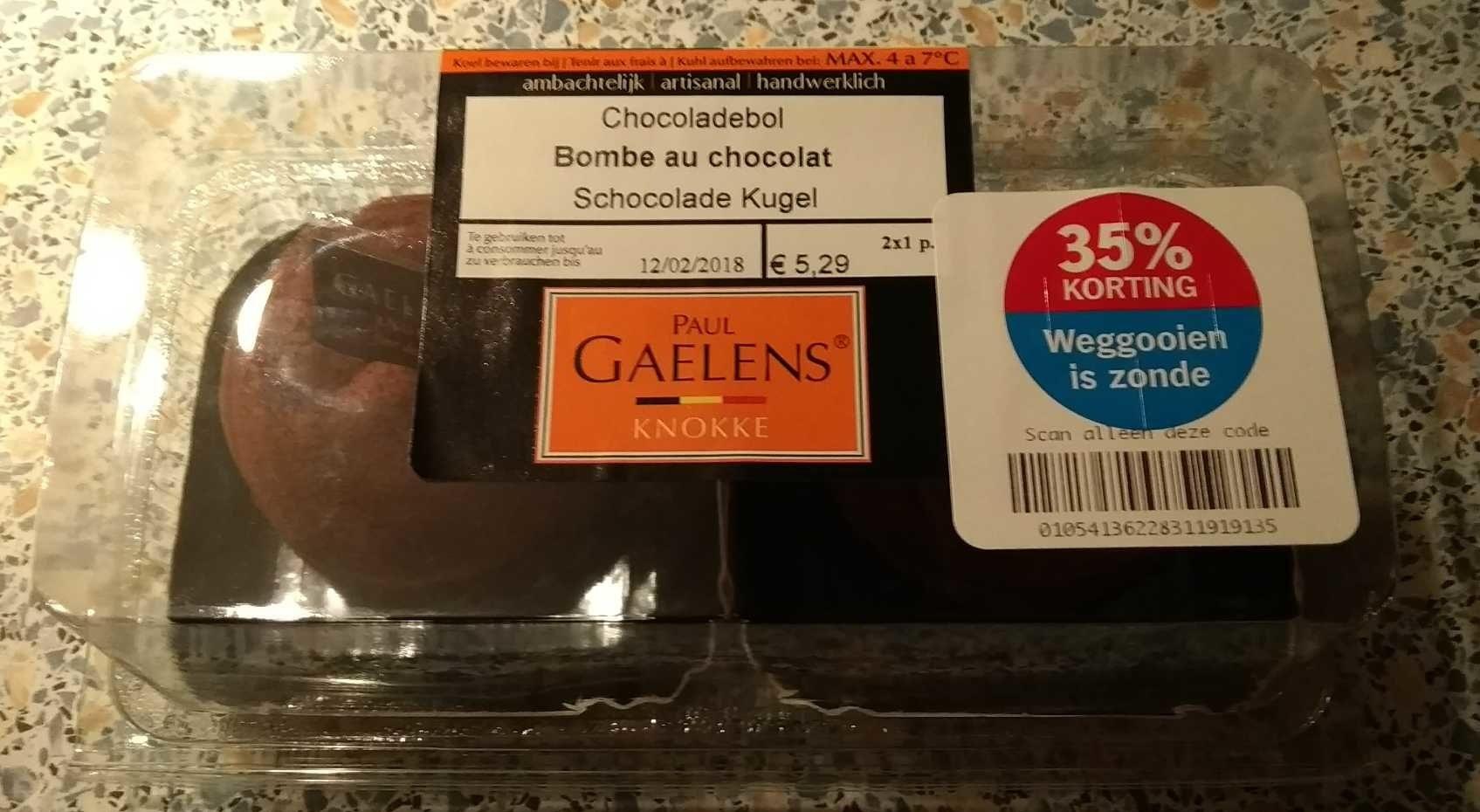 Bombe au chocolat - Product - nl