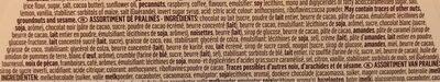 18 pralines - 10 oeufs de Pâques - Ingrédients