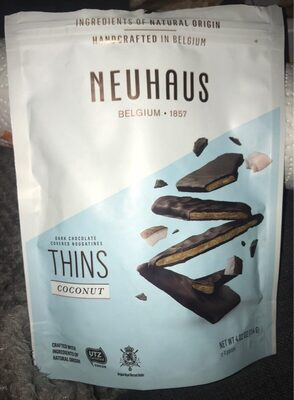 Thins coconut - Producto