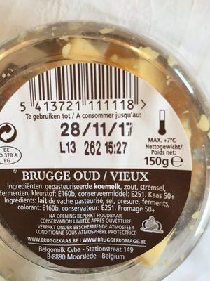Vieux Brugge - Ingredients - fr
