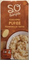 Purée de pommes de terre - Produit