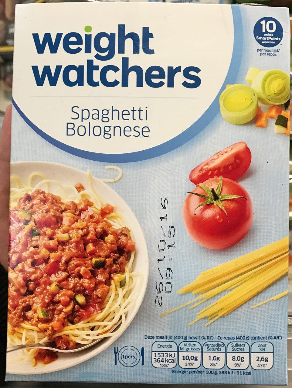 Spaghetti Bolognese - Product - fr