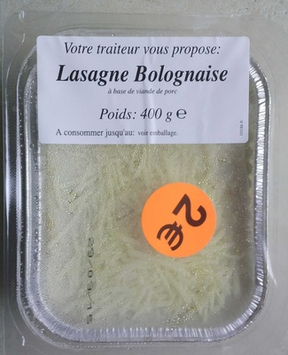 Lasagne - Product - fr