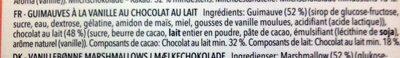 Milk Chocolate Marshmallows - Ingrediënten - fr