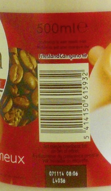 Nutroma - Ingrediënten