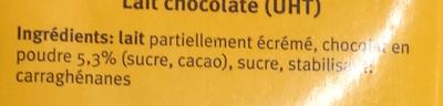 Cécémel - Ingrediënten