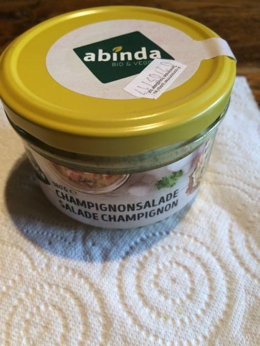 Salade Champignon - Produit - fr