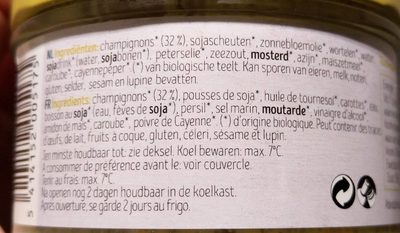 Salade Champignon - Ingrédients - fr